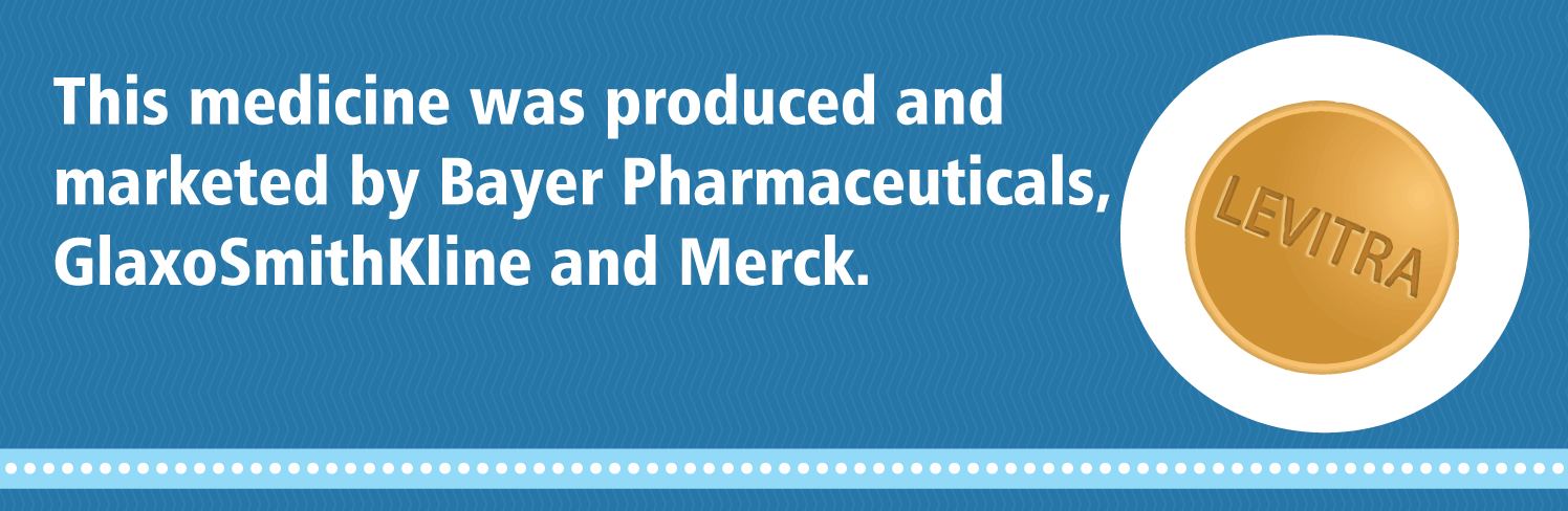 Levitra was produced by Bayer Pharmaceuticals